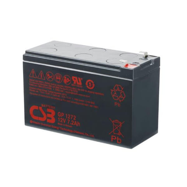 CSB GP1272F2 12V 7,2Ah Blei-Akku / AGM Batterie