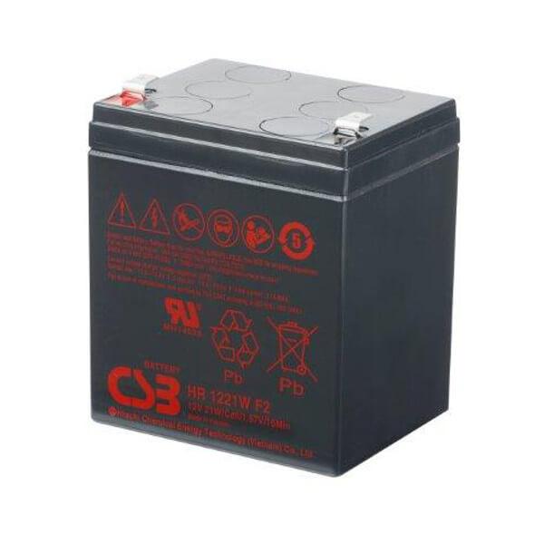 Akkusatz für HP 349992-001 USV - 10 x 12V 21W AGM Batterie Hochstrom