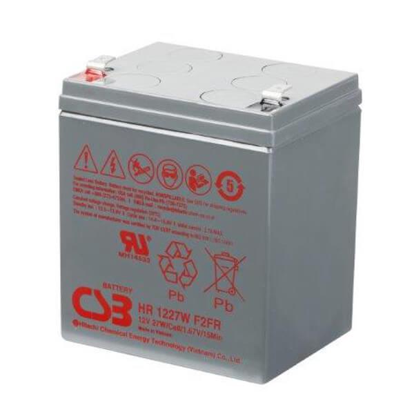CSB HR1227WF2 12V 27W Blei-Akku / AGM Batterie Hochstrom