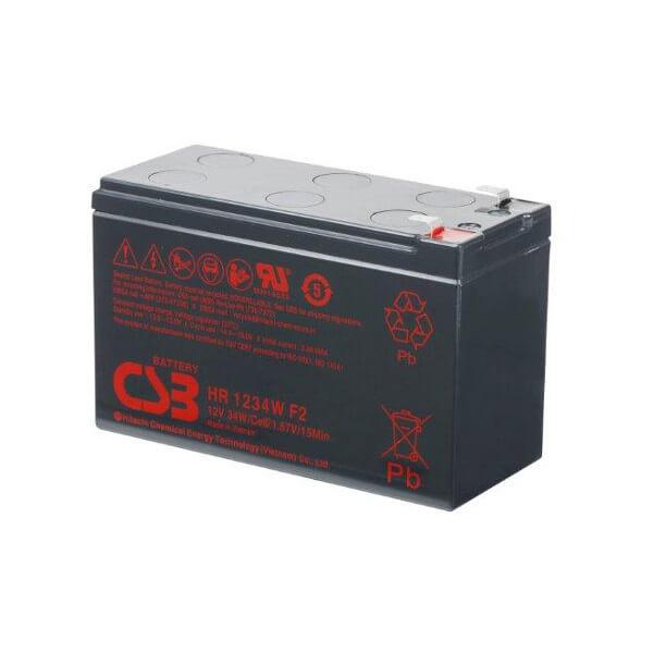 APC RBC110 kompatible 12V 34W AGM Batterie Hochstrom Industrieausrüsterqualität