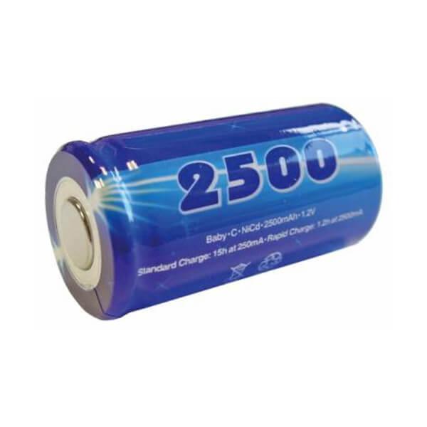 Mexcel Ni-Cd Akku D-C2500H - 1,2V 2500mAh Hochtemperatur