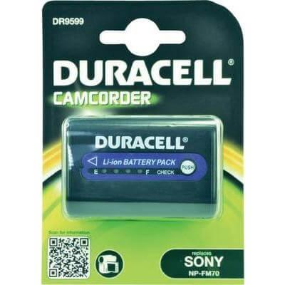 Duracell Digitalkamera und Camcorder Akku DR9599 kompatibel zu Sony NP-QM71 + NP-FM70