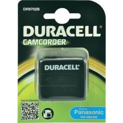 Duracell Digitalkamera und Camcorder Akku DR9702B passend für Panasonic VW-VBG260