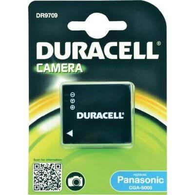 Duracell Digitalkamera und Camcorder Akku DR9709 kompatibel zu Panasonic CGA-S005