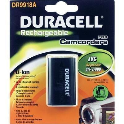 Duracell Digitalkamera und Camcorder Akku DR9918A kompatibel zu JVC BN-VF808