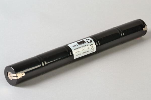 Ni-Cd Notbeleuchtung Akku 6,0V / 4000mAh 4Ah passend für Tridonic Art.No. 89895973