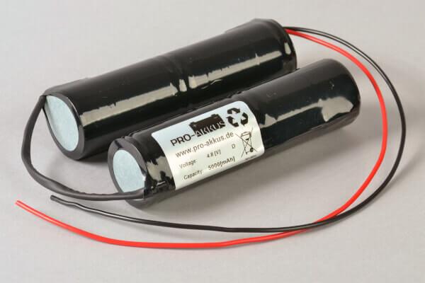 NiMh Notbeleuchtung Akku 4,8V / 5000mAh passend für RPower