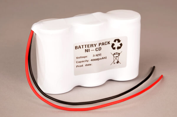 Notbeleuchtung Akku-Pack 3,6V / 4Ah passend für B.E.G. Nr. 934010