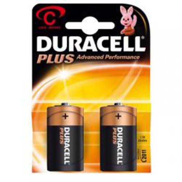 Duracell Plus Power 1,5V MN1400 Baby C Alkaline Batterie Blister