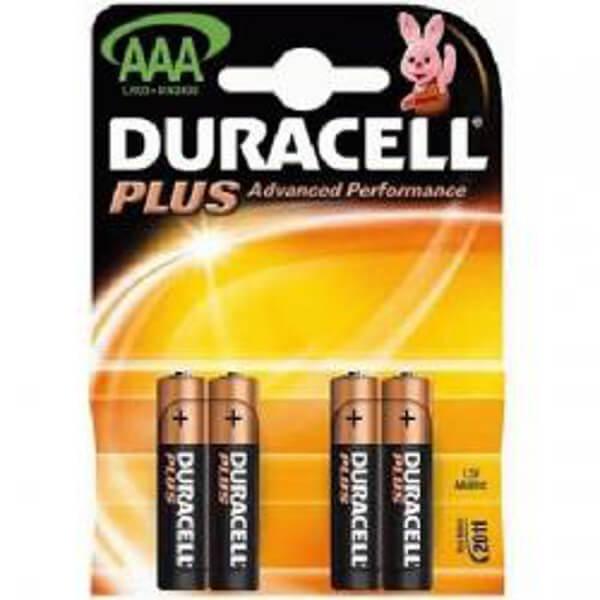 Duracell Plus Power 1,5V MN2400 Micro AAA Alkaline Batterie Blister