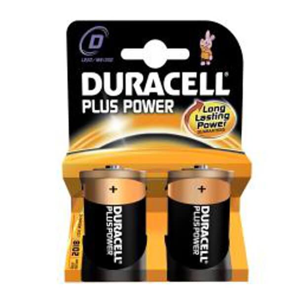 Duracell Plus Power 1,5V MN1300 Mono D Alkaline Batterie Blister