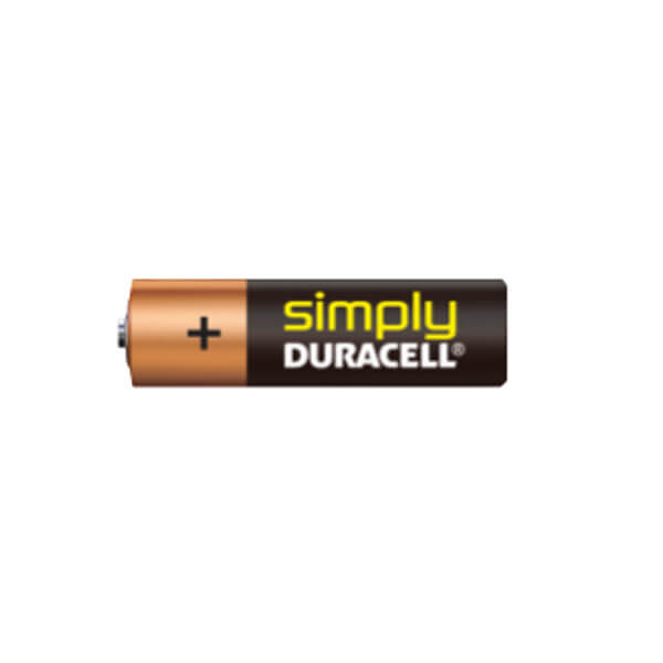 Duracell Simply AA (LR6), MN1500 Alkaline Batterie