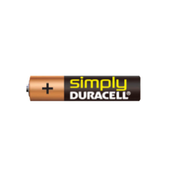 Duracell Simply AAA (LR3), MN2400 Alkaline Batterie