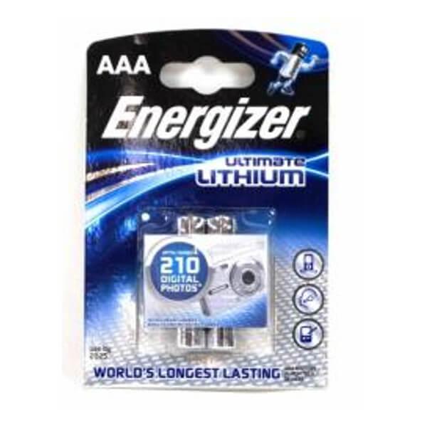 ENERGIZER L92 LITHIUM RUNDZELLE 1,5V 1300mAh 2er Blister Micro AAA