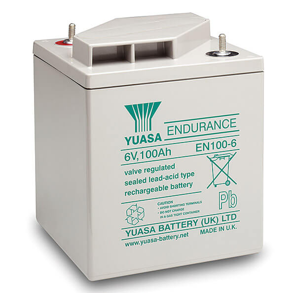 Yuasa EN100-6 6V 100Ah Blei-Akku / AGM Batterie