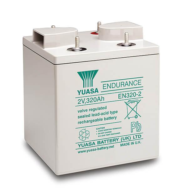 Yuasa EN320-2 2V 320Ah Blei-Akku / AGM Batterie