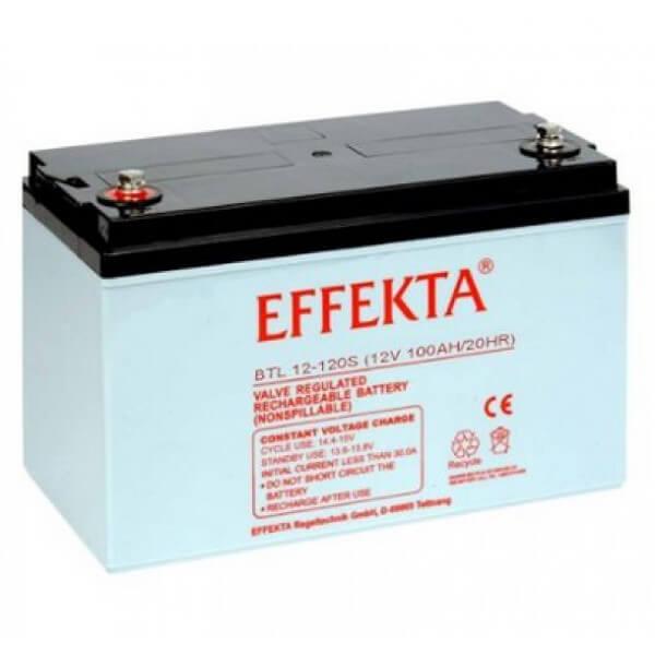 Effekta BTL12-120S 12V 120Ah Blei-Akku / AGM Batterie