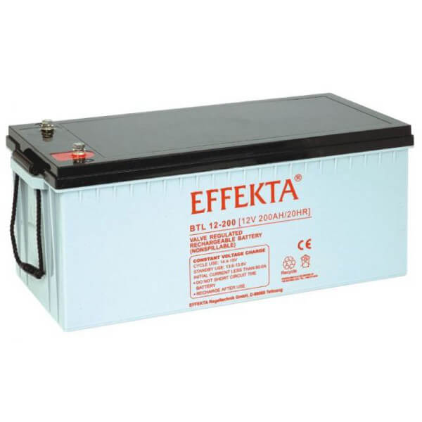 Effekta BTL12-200 12V 200Ah Blei-Akku / AGM Batterie