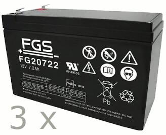 Batteriesatz für APC RBC53 (FGS)