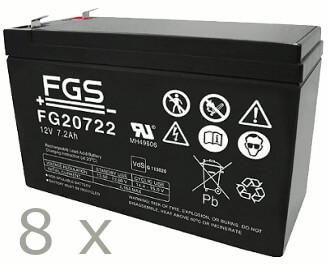 Batteriesatz für APC RBC105 (FGS)