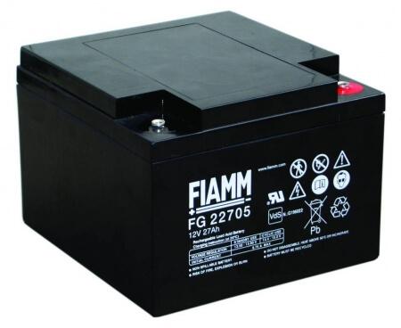 Fiamm FG22705 12V 27Ah Blei-Akku / AGM Batterie