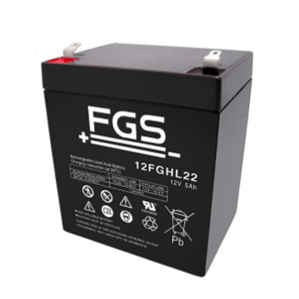 FGS 12FGHL22 12V 5Ah Blei-Akku / AGM Batterie Hochstrom Longlife