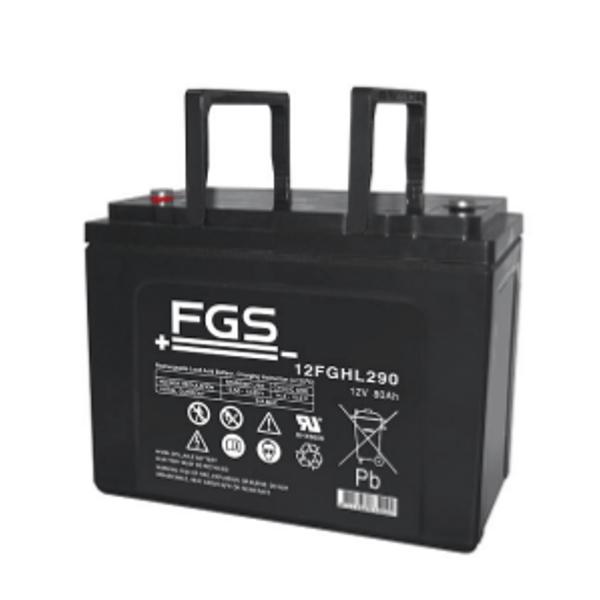 FGS 12FGHL290 12V 80Ah Blei-Akku / AGM Batterie Hochstrom Longlife