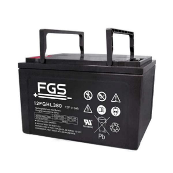 FGS 12FGHL380 12V 110Ah Blei-Akku / AGM Batterie Hochstrom Longlife