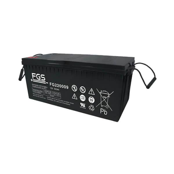 FGS FG220009 12V 200Ah Blei-Akku / AGM Batterie