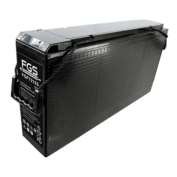 FGS FGFT2155 12V 155Ah Blei-Akku / AGM Batterie Front Terminal