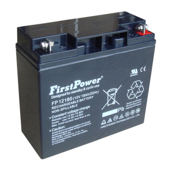 FirstPower FP12180 12V 18Ah Blei-Akku / AGM Batterie