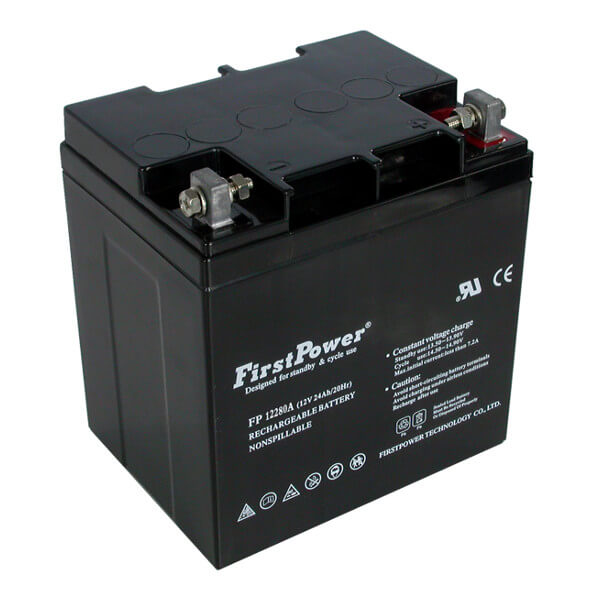 FirstPower FP12280A 12V 28Ah Blei-Akku / AGM Batterie