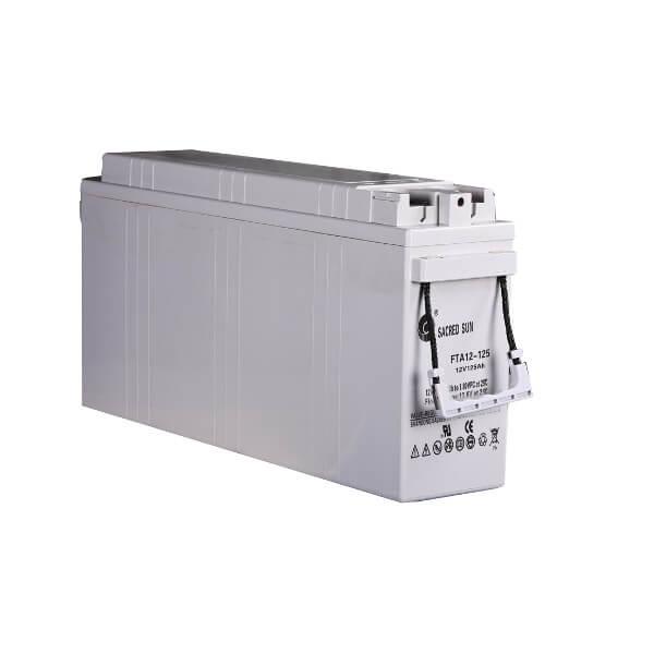 Inbatt FTA12-125 Batterie 12V 125Ah Long Life Frontterminal Akku