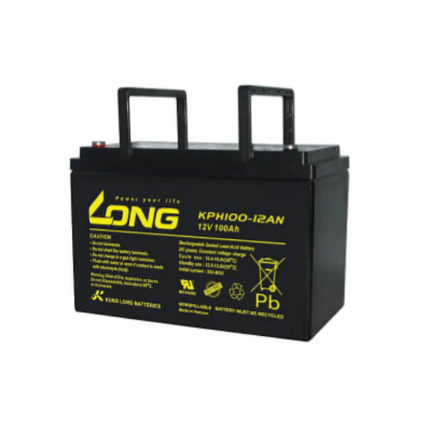 Kung Long KPH100-12AN 12V 100Ah Blei-Akku / AGM Batterie Long Life
