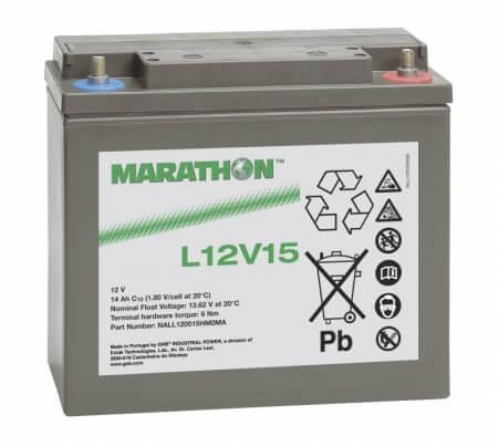 Exide Marathon L12V15 12V 14,4Ah Bleiakku