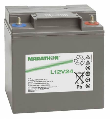 Exide Marathon L12V24 12V 24Ah Bleiakku