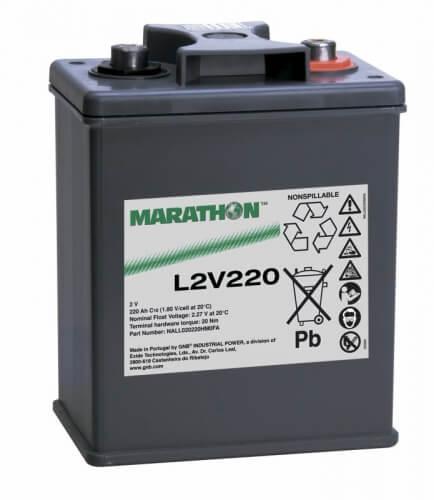 Exide Marathon L2V220 2V 236Ah Bleiakku