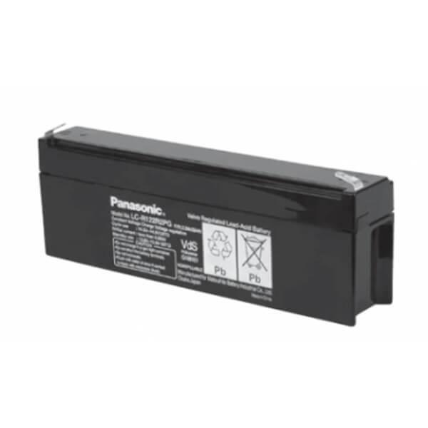 Panasonic LC-R122R2PG 12V 2,2Ah Blei-Akku / AGM Batterie mit VdS-Zulassung