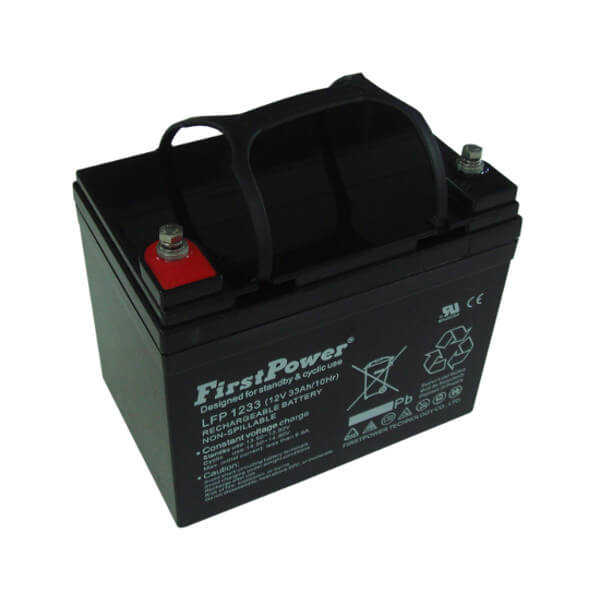 FirstPower LFP1233 12V 33Ah Blei-Akku / AGM Batterie
