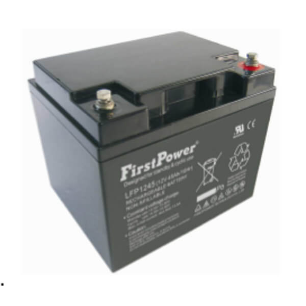 FirstPower LFP1245 12V 45Ah Blei-Akku / AGM Batterie