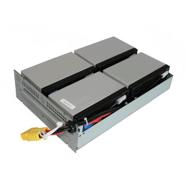 Batteriekit für APC USV RBC133 / Smart UPS SMT1500RMI2U komplett vormontiert