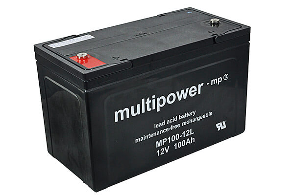 Multipower MP100-12L 12V 100Ah Blei-Akku / AGM Batterie Longlife