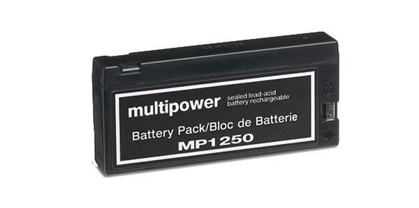 Multipower MP1250 12V 2Ah Blei-Akku / AGM Batterie