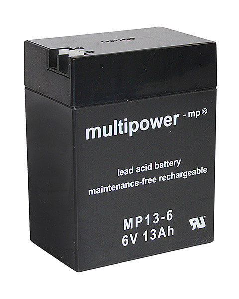 Multipower MP13-6 6V 13Ah Blei-Akku / AGM Batterie