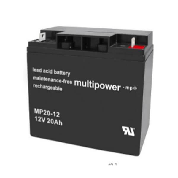 Multipower MP20-12 12V 20Ah Bleiakku / AGM Batterie