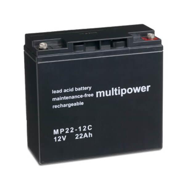 Blei-AGM Akku für Alber E-Fix 26 Elektromobil - 12V 22Ah