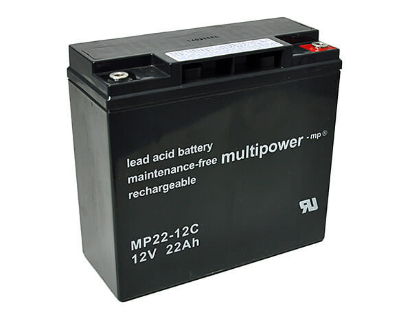 Multipower MP22-12C 12V 22Ah Blei-Akku / AGM Batterie Zyklenfest