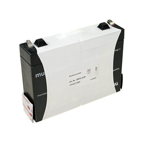 Multipower MP2.8-12 12V 2,8Ah Blei-Akku / AGM Batterie