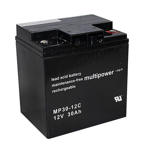 Multipower MP30-12C 12V 30Ah Blei-Akku / AGM Batterie Zyklenfest