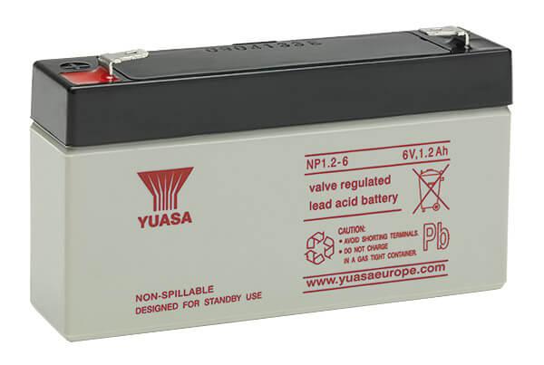 Yuasa NP12-6 VdS 6V 12Ah Blei-Akku / AGM Batterie